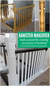 best 25 painted stair railings ideas on pinterest railings