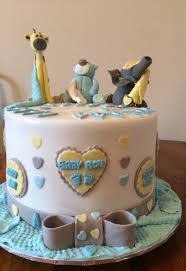 baby shower cake challenge complete baby giraffe baby bear