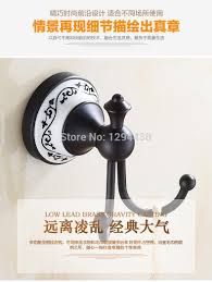 style dual towel holder decorative hooks oil rubbed coat hooks