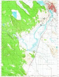 Klamath Falls Oregon Map by Download Topographic Map In Area Of Klamath Falls Mapstor Com