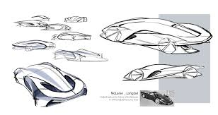 mclaren logo drawing design development mclaren 570s car design news 汽车2