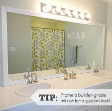 Frames For Bathroom Mirrors Lowes Frame Mirror Like Mirror Mates But Cheaper At Lowes Out