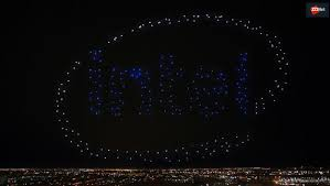 Light Show Intel U0027s Drone Light Show At Super Bowl Will Lead To More Business