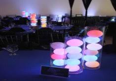 Submersible Led Light Centerpieces by Amazing Table Centerpieces With Lights Clear Water Beads With Blue