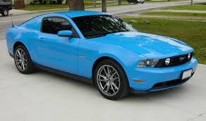 grabber blue 2014 mustang paint cross reference