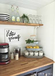 Kitchen Countertop Shelf Addicted To Coffee Check Out These 25 Ways To Make It The