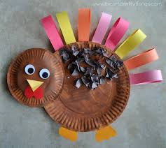 paper plate turkey craft i crafty things