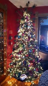 interior design cool themes for christmas tree decorating