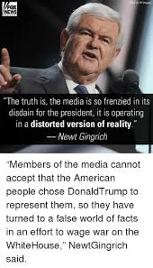 Newt Gingrich Meme - sipa via ap images fox news the truth is the media is so frenzied in