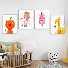 Kids Room Prints by Online Get Cheap Funny Art Prints Aliexpress Com Alibaba Group
