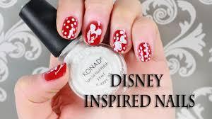 nail art disney mickey mouse u0026 pluto konad stamping design for