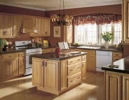 kitchen color ideas with oak cabinets oak cabinets foter