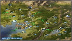 Worl Map World Map Pillars Of Eternity Game Guide U0026 Walkthrough