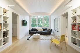 georgian home interiors cor ten steel structure gives georgian revival home a modern facelift