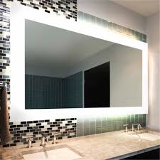 lighted vanity mirror with led anti fog mirror heater with ip44