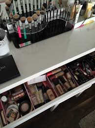 make up dressers my make up table and storage fashion beauty style