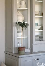 kitchen dish cabinet china cabinet makeover hometalk