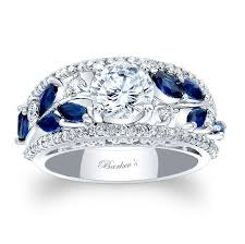 Blue Wedding Rings by Unusual Engagement Rings Jewelry Exhibition