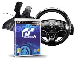 volante ps3 thrustmaster pack ps3 volante thrustmaster t100 juego gran turismo 6
