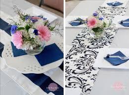 Bridal Shower Centerpieces Something Blue A Bridal Shower Sweet Rose Studio