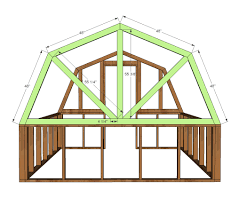 Free A Frame House Plans by Ana White Barn Greenhouse Diy Projects