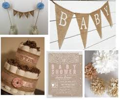 rustic baby shower burlap baby shower decorations rustic baby chic