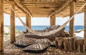rediscover a rustic beach experience at scorpios mykonos in greece
