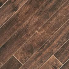 floor and decor wood tile tabula chocolate wood plank porcelain tile 6in x 40in