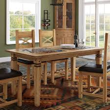 tile top dining room tables alpenhome boundary ridge tile top dining table reviews wayfair co uk