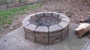 Corner Fire Pit by My Everyday Exceptional Diy Making A Patio Fire Pit