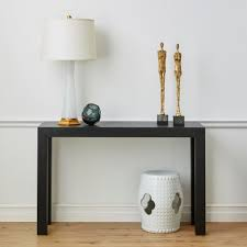 Black Console Table Parsons Console Table Black Bungalow 5