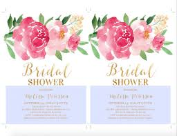 free printable bridal shower invitations invitations templates
