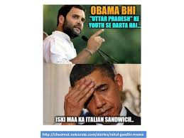 Congress Meme - why rahul gandhi of congress lost the 2014 india elections to bjp and