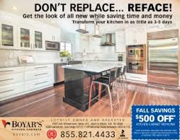 Boyars Kitchen Cabinets Don T Replace Reface Boyar S Kitchen Cabinets