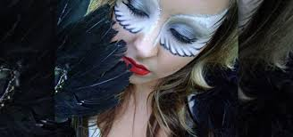 how to create a bright white angel wings eye mask for halloween