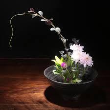 Japanese Flower Arranging Vases Aliexpress Com Buy Japanese Style Vintage Vase Ikebana Creative