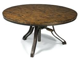 round wood and metal end table round wood and metal coffee table rustic industrial reclaimed wood