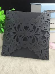 Wedding Invitation Cards China Online Buy Wholesale Black Invitation Wedding Card Design From