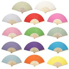 paper fans lovely handheld mini fan folding bamboo paper fans wedding