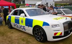 roll royce chinese rolls royce creates a one off ghost black badge police car for
