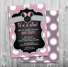minnie mouse baby shower invitations minnie mouse baby shower invitation printable minnie mouse