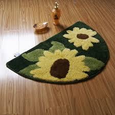 Sunflower Kitchen Rugs 228 Best Sunflower Bathroom Toilet Images On Pinterest