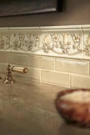Crackle Subway Vanity Backsplash - Crackle subway tile backsplash