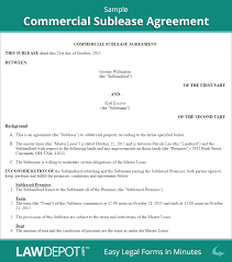 end of lease letter to landlord template sublease agreement free commercial sublease contract us lawdepot sample commercial sublease