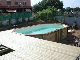 rivestimento in legno per piscine fuori terra rivestimenti piscine interrate idee di design per la casa