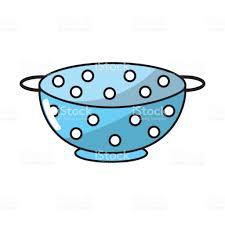passoire de cuisine passoire cuisine ustensile objet de cuisine cliparts vectoriels et