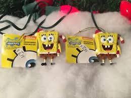 new pair of kurt s adler nickelodeon spongebob squarepants