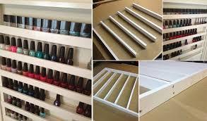make your own nail polish rack home design garden