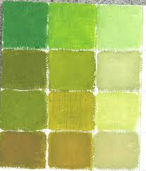painting lesson how to mix an endless amount of greens