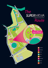 Running Map Route by Kelpies Route Supernova Run